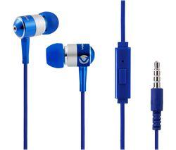 Stannic Series VSN202-B Earphones - Blue