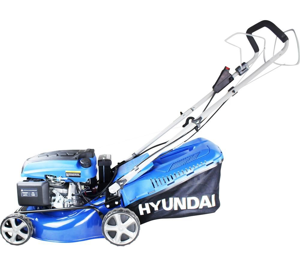 HYUNDAI HYM430SPE Cordless Rotary Lawn Mower - Blue