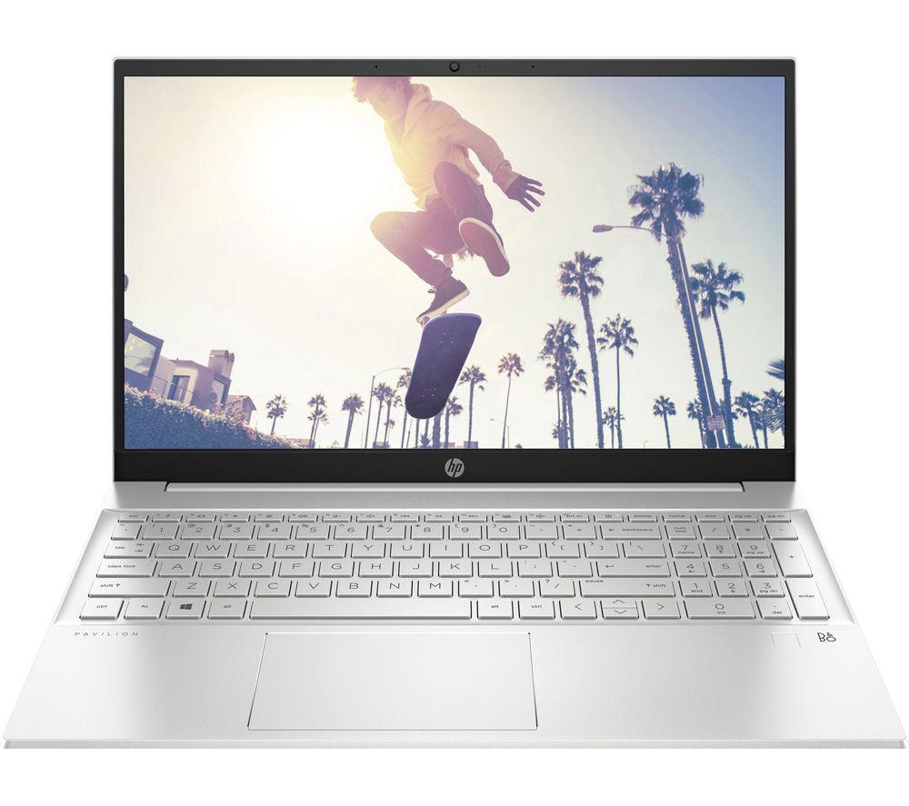 """HP Pavilion 15-eh0507sa 15.6"""" Laptop - AMD Ryzen 3, 256 GB, Silver"""