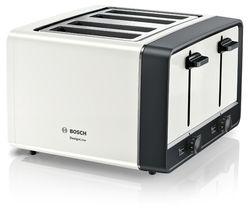 DesignLine TAT5P441GB 4-Slice Toaster – White