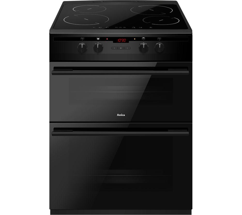 AMICA AFN6550MB 60 cm Electric Induction Cooker - Black