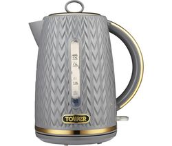 Empire Collection T10052GRY Jug Kettle - Textured Grey