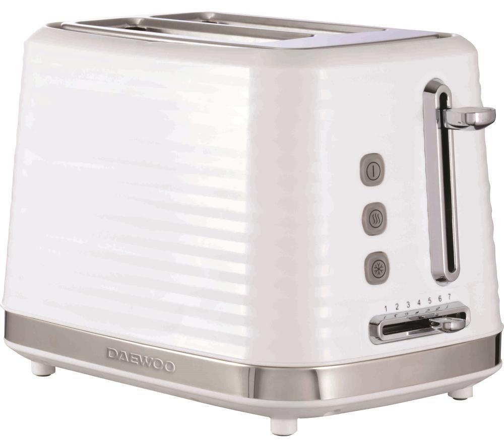 DAEWOO Hive SDA1971 2-Slice Toaster - White