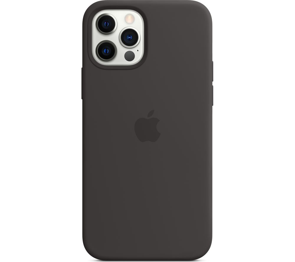 APPLE iPhone 12 & 12 Pro Silicone Case with MagSafe - Black