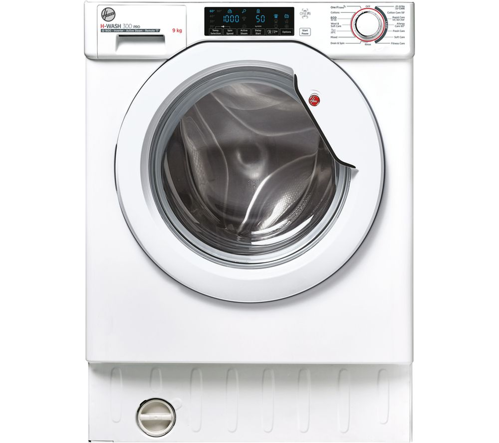 HOOVER H-WASH 300 Pro HBWOS 69TMET-80 Integrated WiFi-enabled 9 kg 1600 Spin Washing Machine