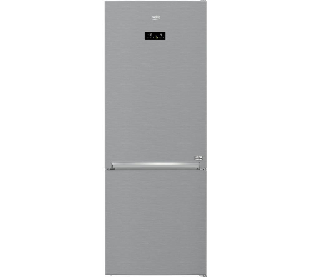 BEKO HygieneShield CNG4792EVHPS Smart 60/40 Fridge Freezer - Stainless Steel