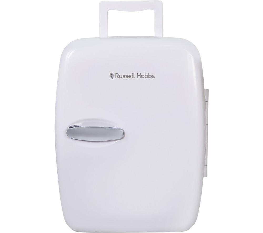 RUSSELL HOBBS Retro RH14CLR4001 Portable Beauty Cooler & Warmer - White, White