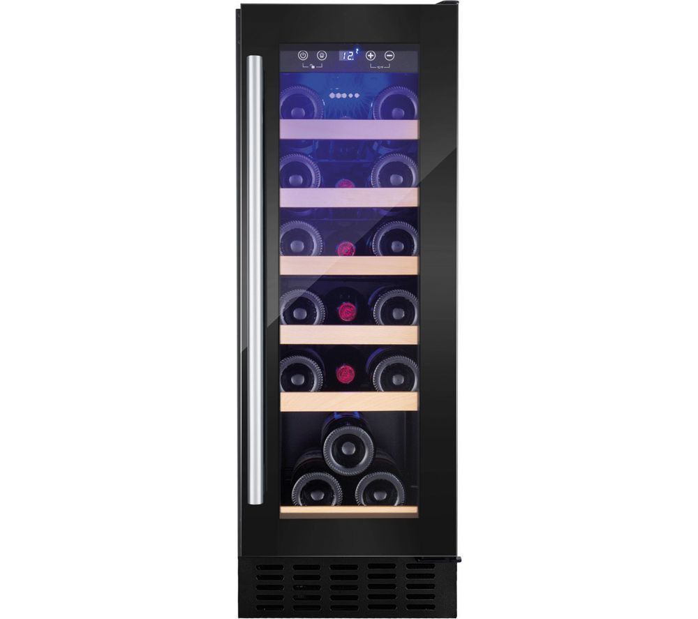 AMICA AWC300BL Wine Cooler - Black