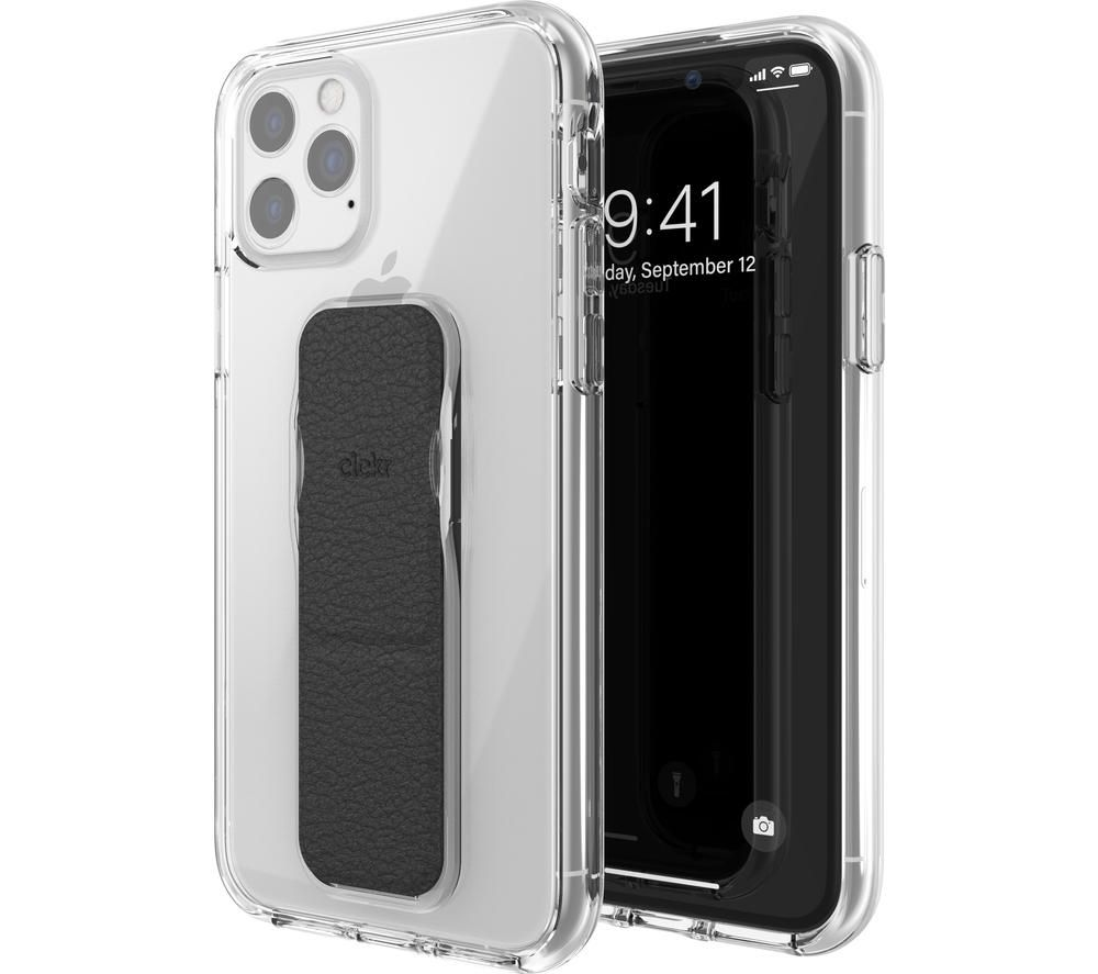 CLCKR iPhone 11 Pro Case - Clear & Black