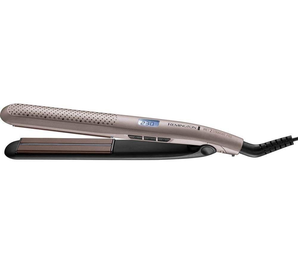 REMINGTON Wet 2 Straight Pro S7970 Hair Straightener ? Bronze, Bronze