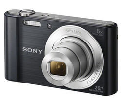 SONY Cyber-shot DSCW810B Compact Camera - Black