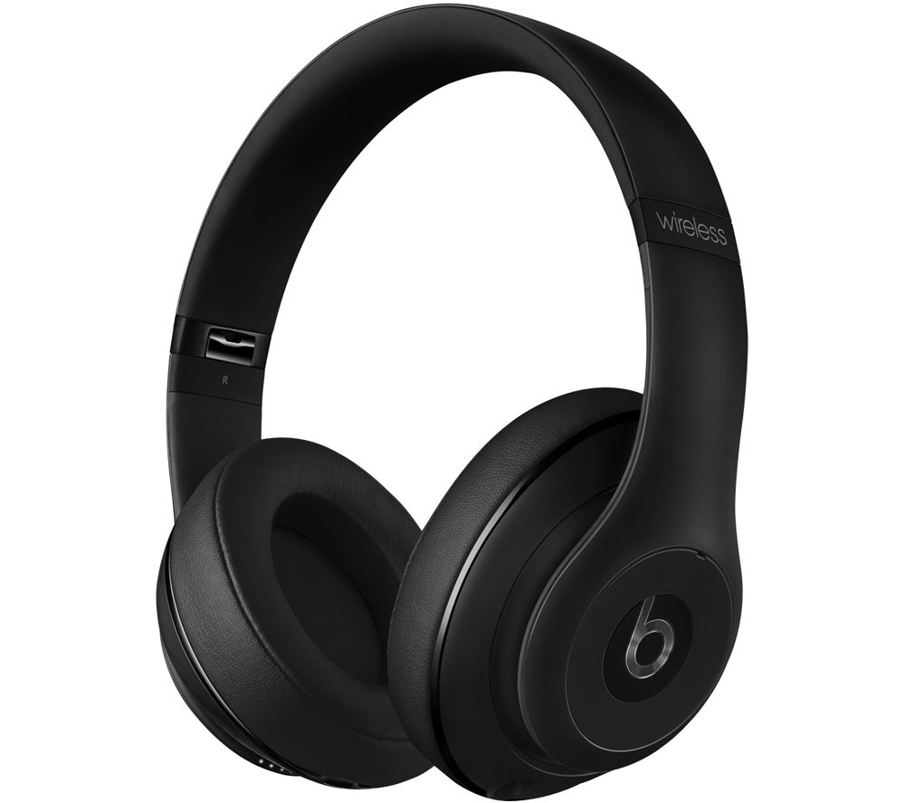 buy beats studio wireless bluetooth noise cancelling headphones matte black free delivery. Black Bedroom Furniture Sets. Home Design Ideas