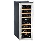 HUSKY HUS-CN215 Drinks & Wine Cooler - Black & Silver