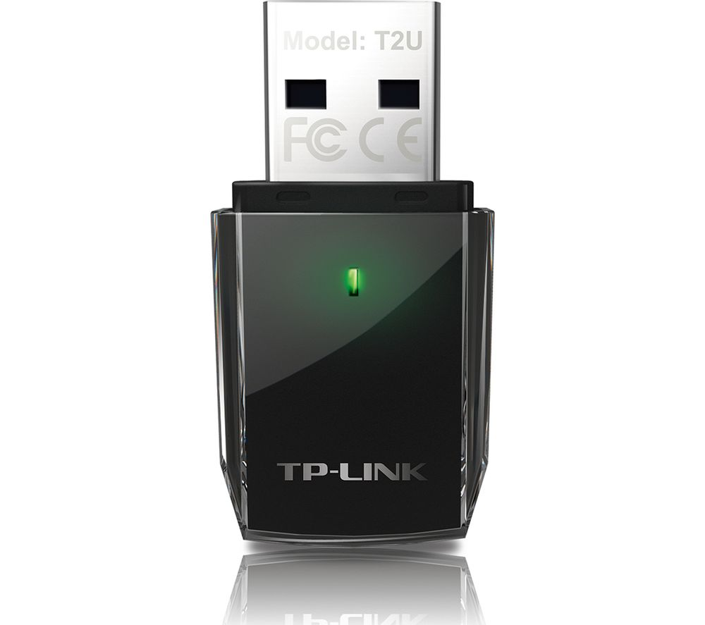 Tp-Link Archer T2U USB Wireless Adapter - AC600, Dual Band