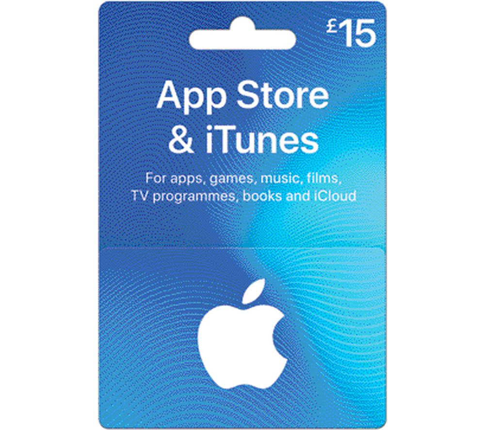 Image of ITUNES £15 iTunes Card