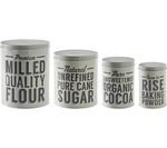 MASON CASH Baker Lane Baking Storage Tins - Set of 4
