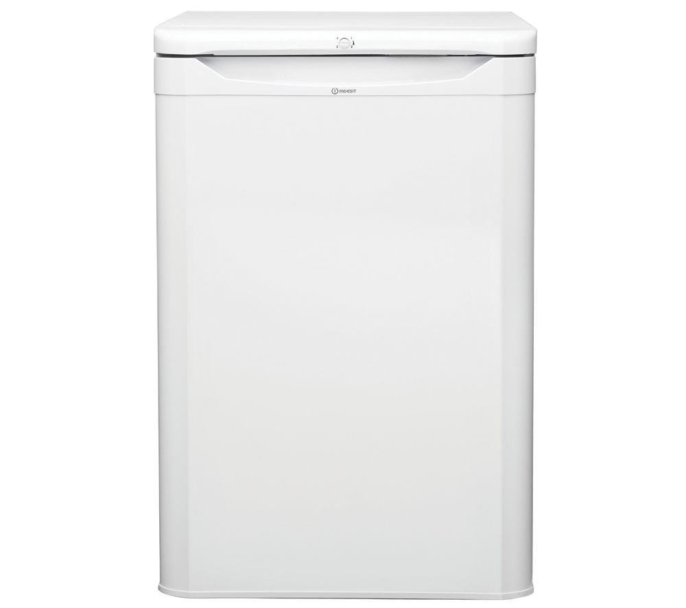 INDESIT TZAA10 Undercounter Freezer - White + TLAA10UK Undercounter Fridge - White