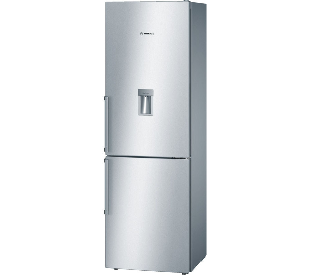 buy bosch serie 4 kgd36vi30g fridge freezer silver free delivery currys. Black Bedroom Furniture Sets. Home Design Ideas