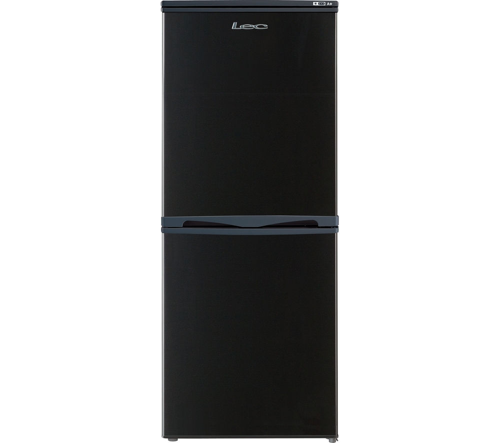 buy lec t5039b 50 50 fridge freezer black free. Black Bedroom Furniture Sets. Home Design Ideas