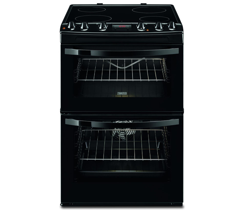 ZANUSSI ZCV664FPB 60 cm Electric Ceramic Cooker - Black