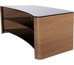 TTAP Milan Curve 1300 TV Stand - Oak