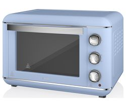 SWAN Retro SF37010BLN Electric Oven - Blue