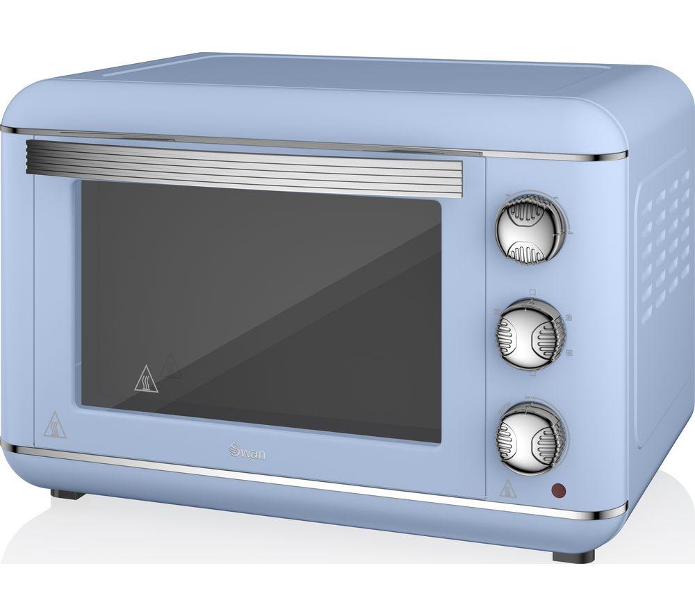 SWAN Retro SF37010BLN Electric Oven - Blue