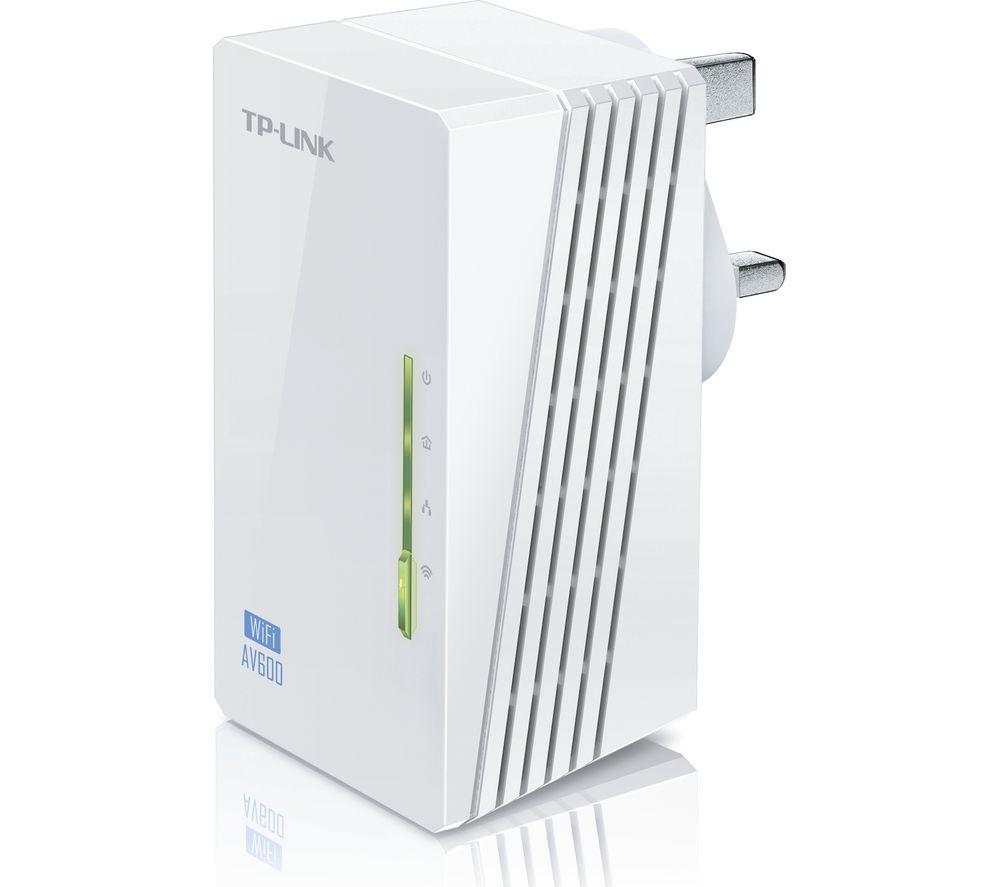 TP-LINK WPA4220 Wireless Powerline Adapter Add-on - AV600