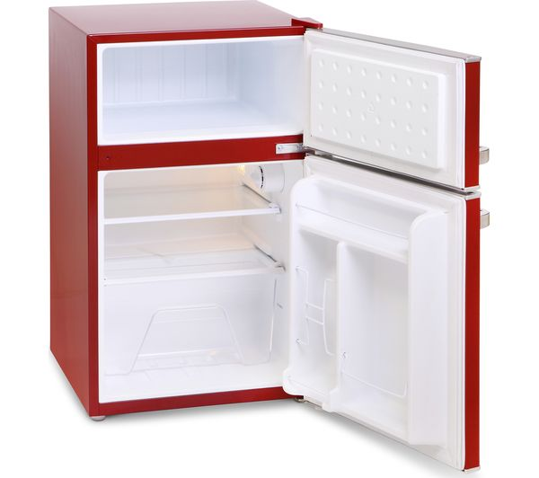 Buy Montpellier Mab2030r Undercounter Fridge Freezer Red