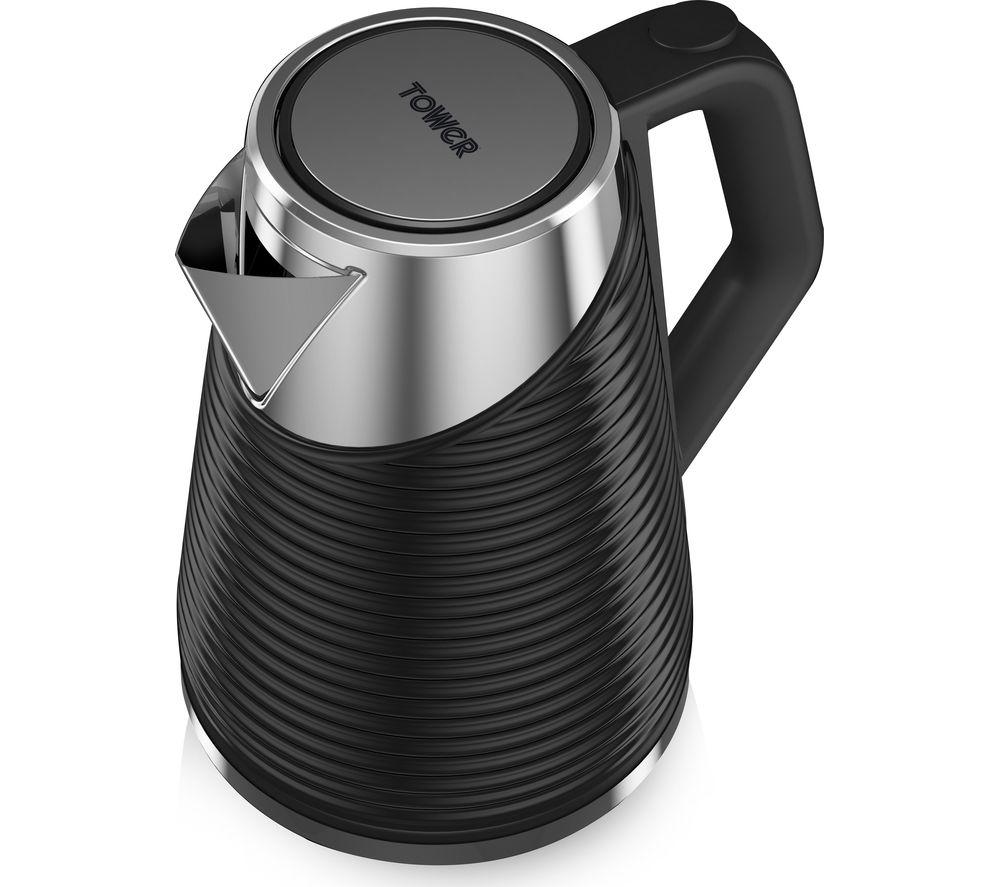 TOWER Linear T10009 jug Kettle - Black