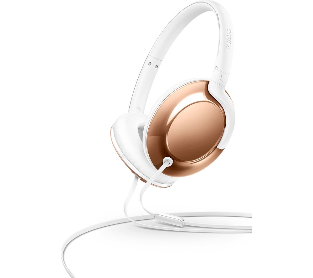 PHILIPS SHL4805RG Headphones - Rose Gold