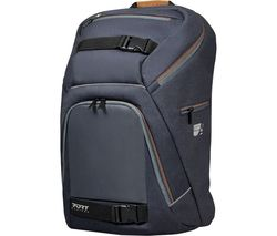 "PORT DESIGNS GO LED 15.6"" Laptop Backpack - Grey & Brown"