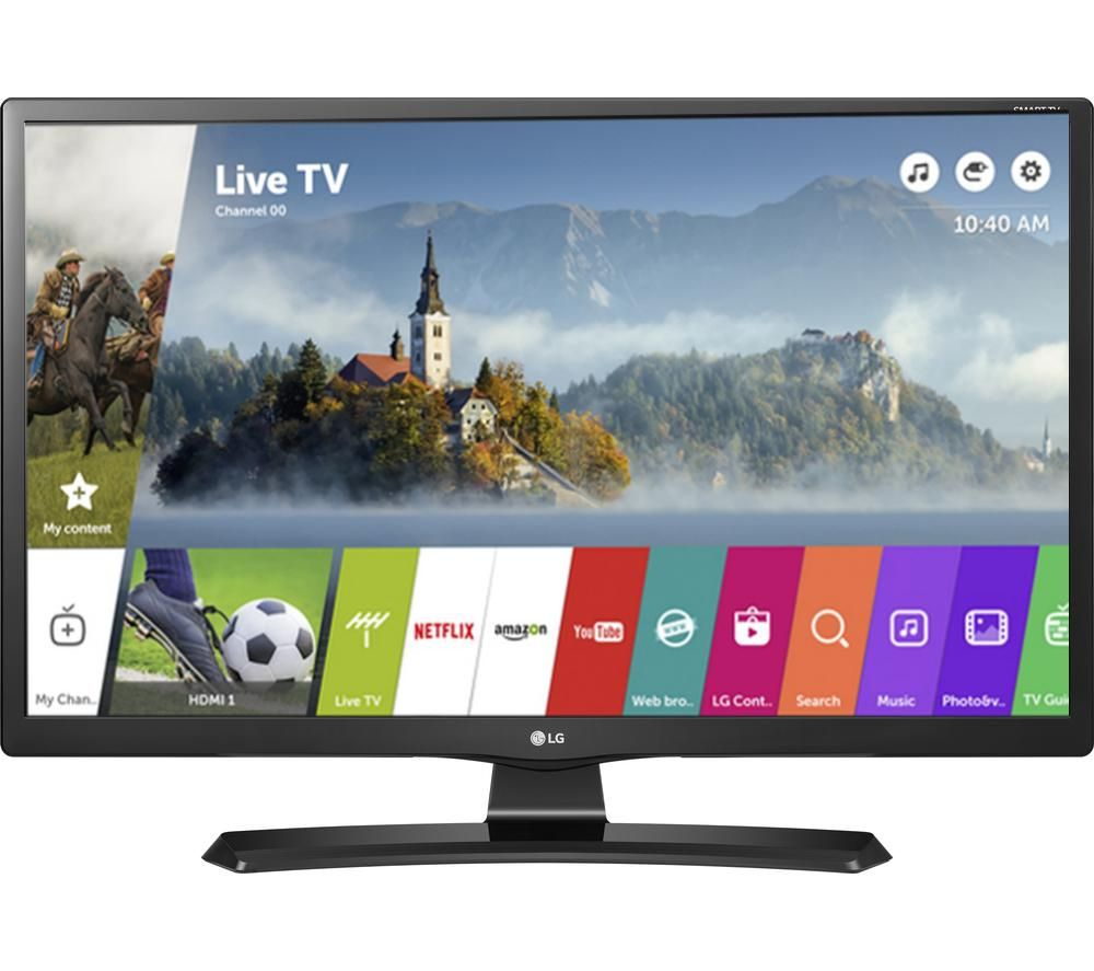 "Compare prices for 24"" LG 24MT49S Smart LED TV, Gold"