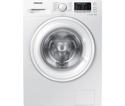SAMSUNG ecobubble WW80J5555DW 8 kg 1400 Spin Washing Machine - White