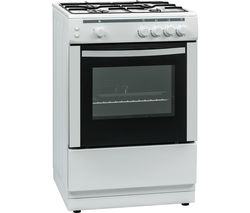ESSENTIALS CFSG60W17 60 cm Gas Cooker - White