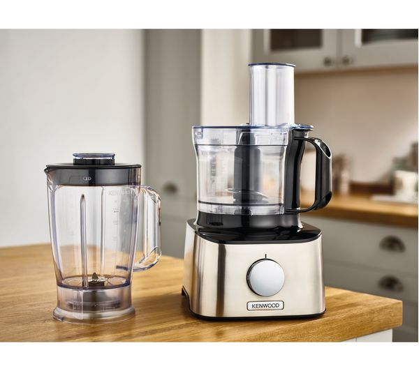 Buy KENWOOD MultiPro Compact FDM300SS Food Processor - Black & Silver | Free Delivery | Currys