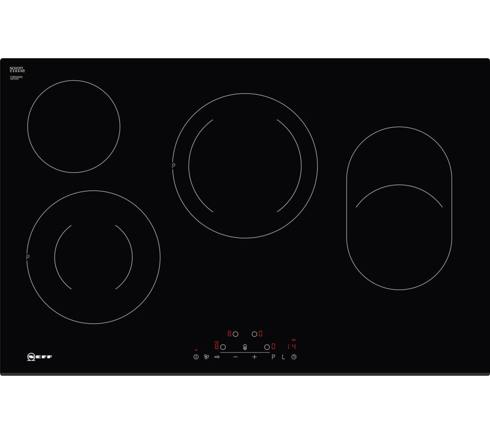NEFF T18FD36X0 Electric Ceramic Hob - Black