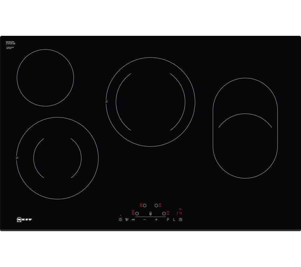 NEFF N70 T18FD36X0 Electric Ceramic Hob - Black