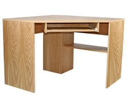 ALPHASON Oakwood AW23120 Corner Desk - Oak