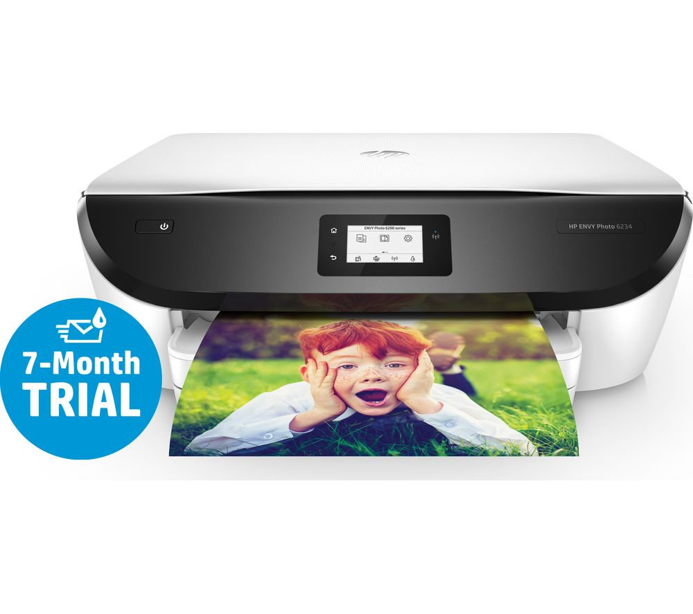 HP Envy Photo 6234 All-in-One Wireless Inkjet Printer + 303 Combo Tri-colour & Black Ink Cartridges