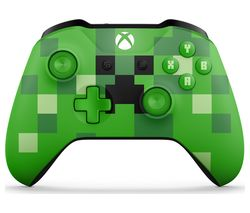 MICROSOFT Xbox Minecraft Creeper Wireless Controller - Green