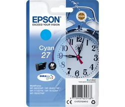 EPSON Alarm Clock 27 Cyan Ink Cartridge