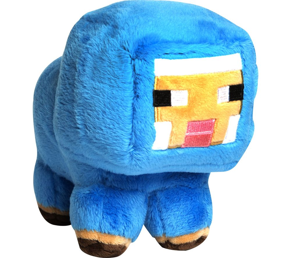 Compare retail prices of Minecraft Baby Sheep Plush Toy - 7 Inch Blue Blue to get the best deal online
