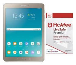 "SAMSUNG Galaxy Tab S2 9.7"" Tablet & LiveSafe Premium 2018 Bundle"