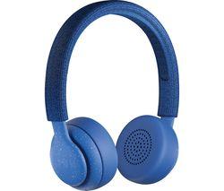 JAM Been There HX-HP202BL Wireless Bluetooth Headphones - Blue