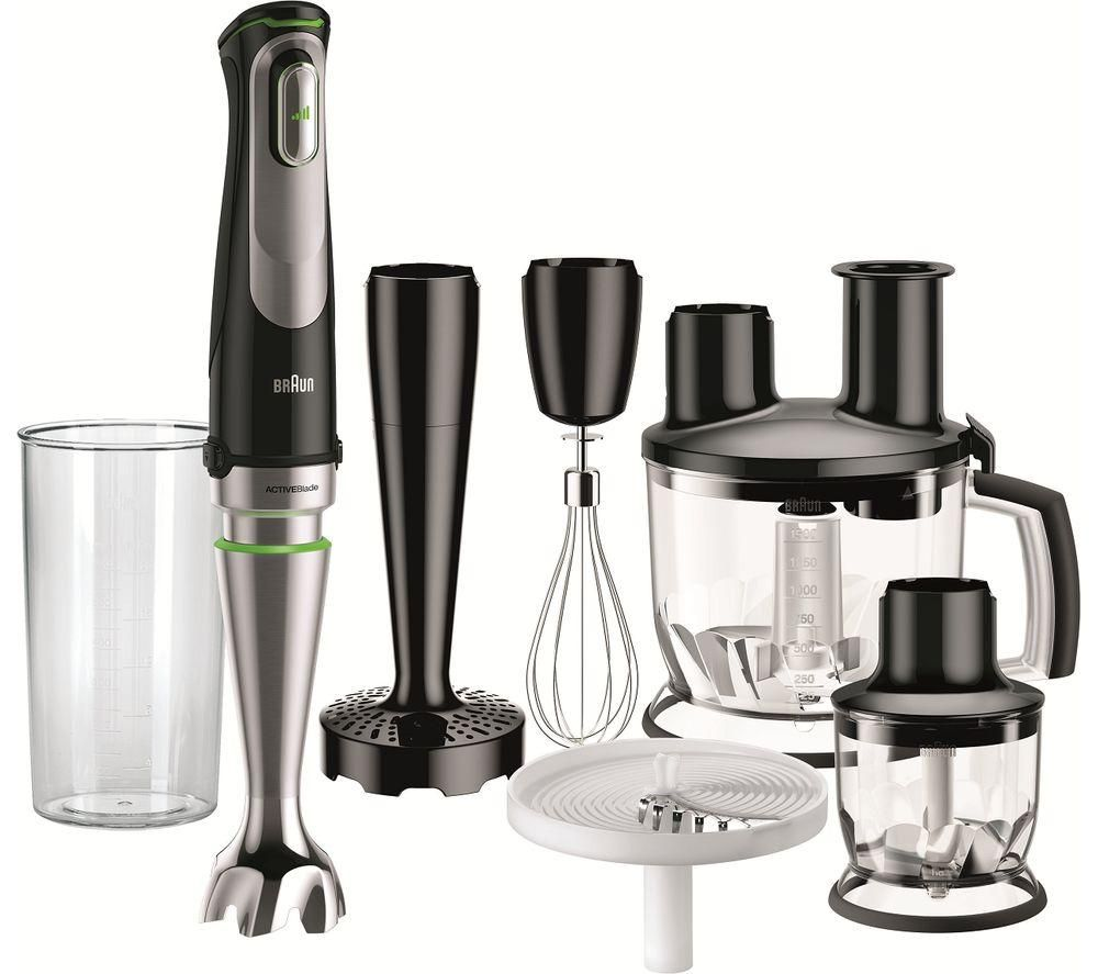 BRAUN Multi Quick 9 MQ9087x Hand Blender - Black, Braun