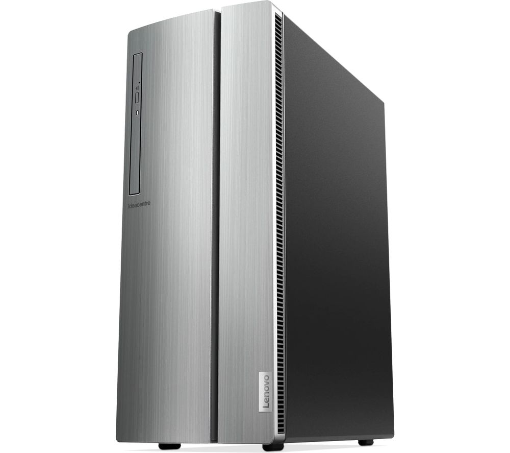 LENOVO IdeaCentre 510-15ICB Intel® Core i7 Desktop PC - 2 TB HDD, Silver