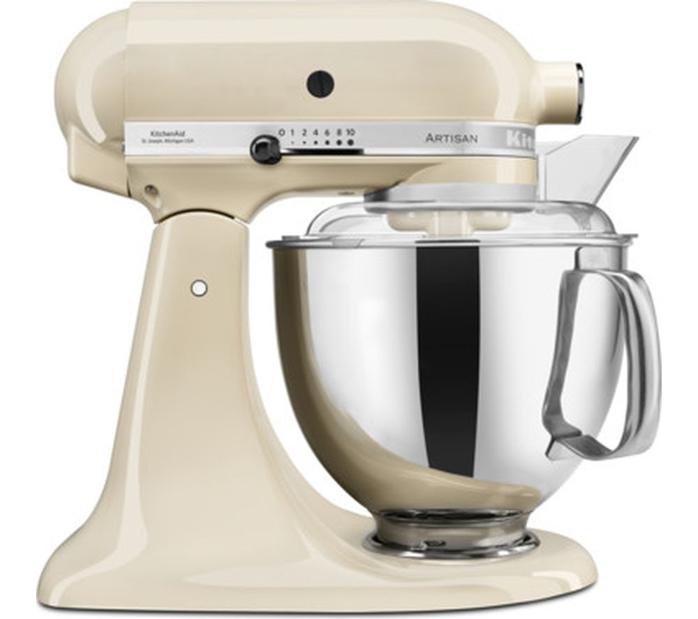 KITCHENAID Artisan 5KSM175PSBAC Stand Mixer - Almond Cream, Cream