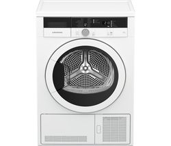 GRUNDIG GTN28110GW 8 kg Condenser Tumble Dryer - White