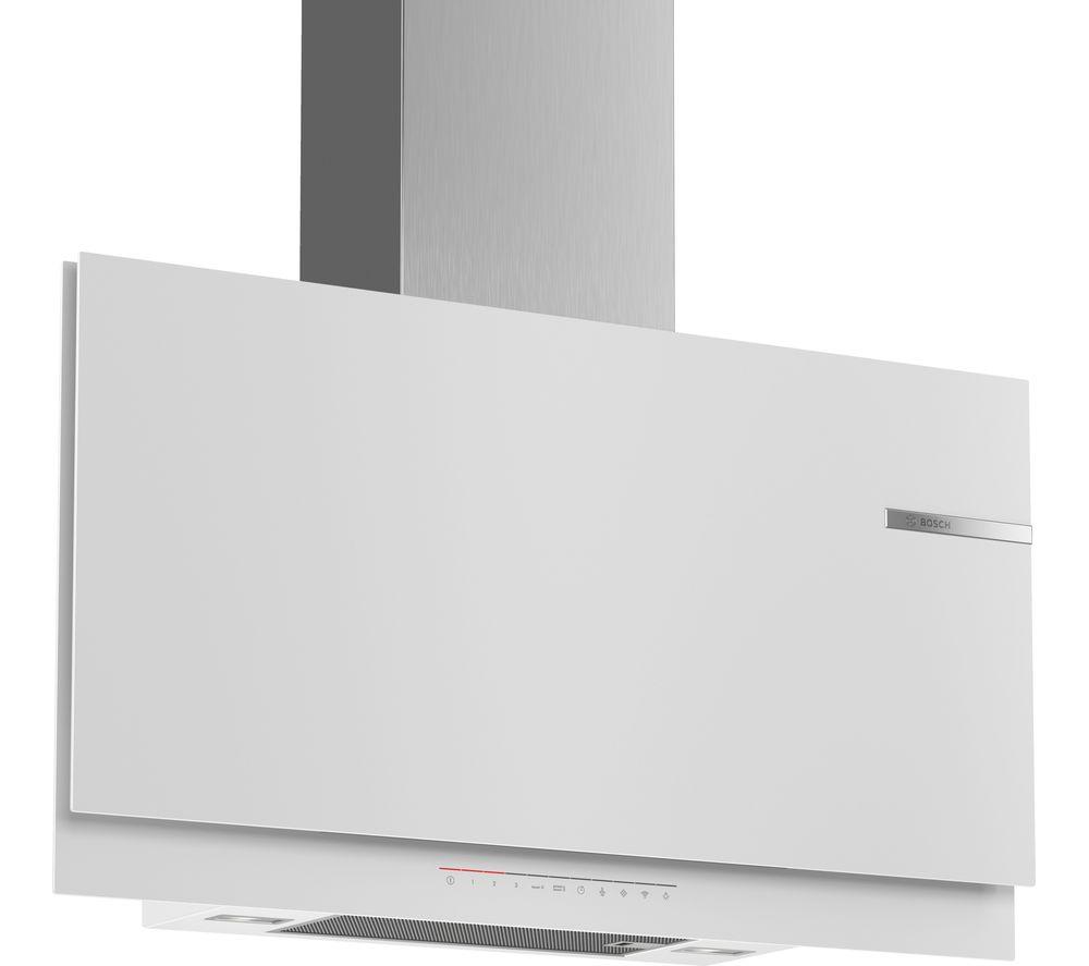BOSCH DWF97KR20B Chimney Smart Cooker Hood - White